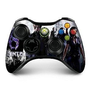 Adesivo de controle xbox 360 Resident Evil 6