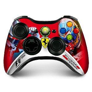 Adesivo de controle xbox 360 F1 Scuderia Ferrari