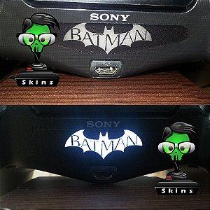 Adesivo lightbar controle ps4 Batman logo