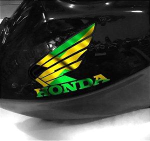 Adesivo de tanque Asa Honda Jamaica flag