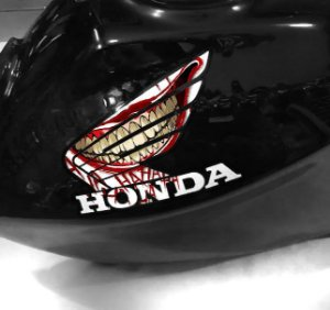 Adesivo de tanque Asa Honda Joker RISADA