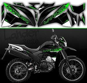 Faixa lander 2020 limited preto com verde