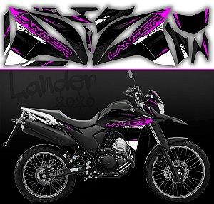 Faixa lander 2020 limited preto com rosa