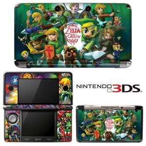 adesivo skin nintendo 3ds XL Zelda 25th