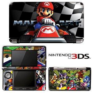 adesivo skin nintendo 3ds XL Mario Kart