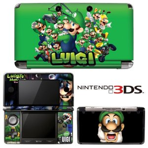 adesivo skin nintendo 3ds XL Luigi