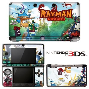 adesivo de proteção 3ds XL Rayman