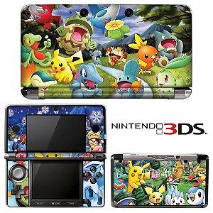 adesivo de proteção 3ds XL Pokémon