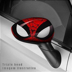 Adesivo para envelopamento de retrovisor Spiderman