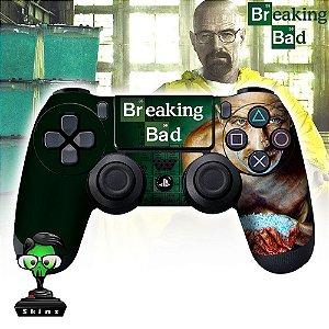 Adesivo de Controle PS4 Breaking Bad Mod 1