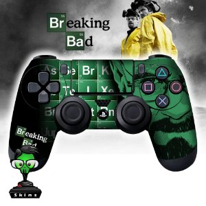 Adesivo de Controle PS4 Breaking Bad Mod 2