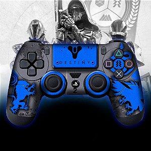 Adesivo de Controle PS4 Destiny Azul
