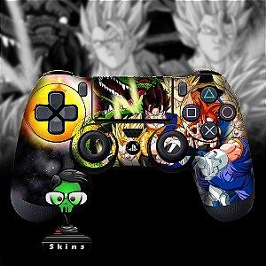 Adesivo de Controle PS4 Dragonball Z