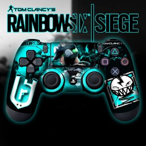 Adesivo de Controle PS4 Raibow Six Mod 1