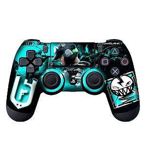 Adesivo de Controle PS4 Raibow Six Mod 2