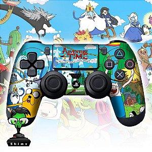 Adesivo de Controle PS4 Hora de Aventura