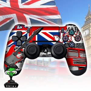Adesivo de Controle PS4 London Mod 2