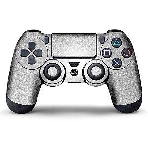 Adesivo de Controle PS4 Prata