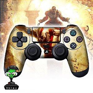 Adesivo de Controle PS4 God of War Kratos Mod 01