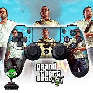 Adesivo de Controle PS4 GTA 5 Mod 04