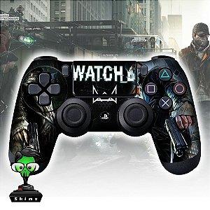 Adesivo de Controle PS4 Whatch Mod 01