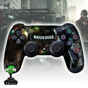 Adesivo de Controle PS4 Whatch Mod 02
