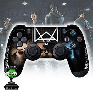 Adesivo de Controle PS4 Whatch Dogs Mod 03