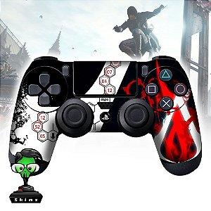 Adesivo de Controle PS4 Assassins Creed Mod 02