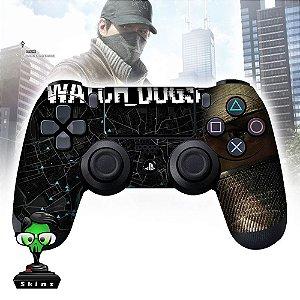 Adesivo de Controle PS4 Whatch Dogs Mod 04