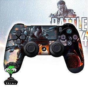 Adesivo de Controle PS4 Battlefield Mod 01