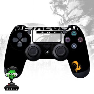 Adesivo de Controle PS4 Metal Gear Mod 01