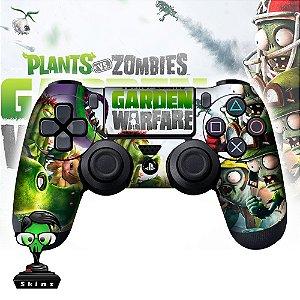 Adesivo de Controle PS4 Plants VS Zombies Mod 01