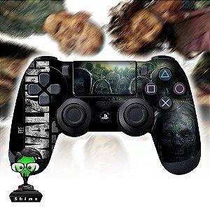 Adesivo de Controle PS4 The Walking Dead Mod 01