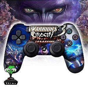 Adesivo de Controle PS4 Warriors Orochi Mod 01