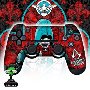 Adesivo de Controle PS4 Assassins Creed Mod 06