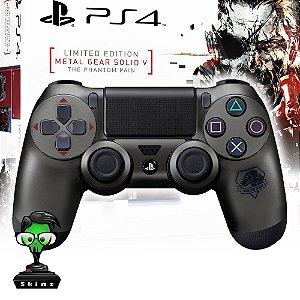 Adesivo de Controle PS4 Metal Gear Mod 02