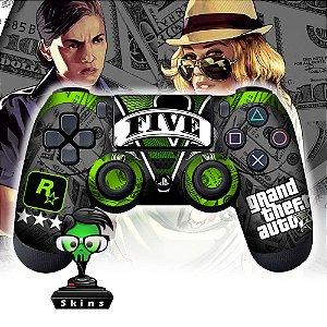 Adesivo de Controle PS4 GTA 5 Mod 07