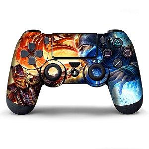 Adesivo de Controle PS4 Mortal Kombat Mod 01