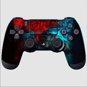 Adesivo de Controle PS4 Street Fighter 5 Mod 02
