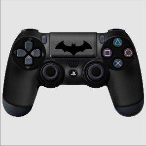 Adesivo de Controle PS4 Batman Mod 02