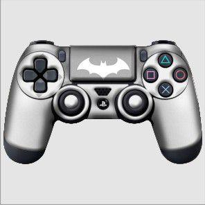 Adesivo de Controle PS4 Batman Mod 03
