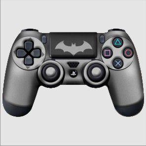Adesivo de Controle PS4 Batman Mod 04