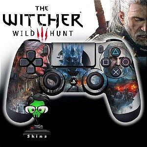 Adesivo de Controle PS4 The Witcher Mod 04