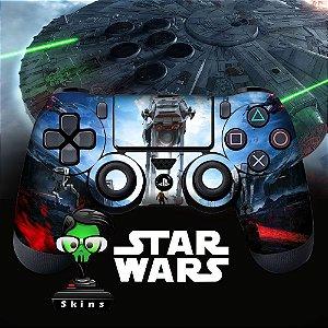 Adesivo de Controle PS4 Star Wars Mod 01