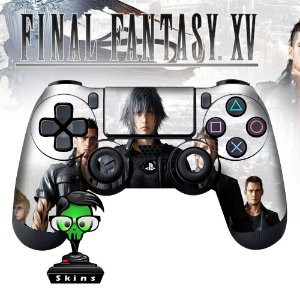 Adesivo de Controle PS4 Final Fantasy XV Mod 03