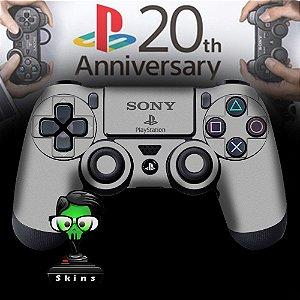 Adesivo de Controle PS4 Playstation 2 Mod 01