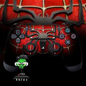 Adesivo de Controle PS4 Spider Man Mod 01