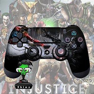 Adesivo de Controle PS4 Injustice Mod 02