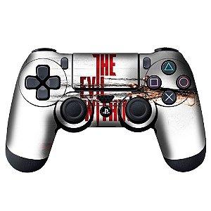 Adesivo de Controle PS4 The Evil Within Mod 01
