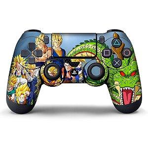 Adesivo de Controle PS4 Dragonball Z Mod 04